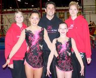Calgary athletes attend first Acrobatic Gymnastics Pan American Championships in Caguas, Puerto Rico