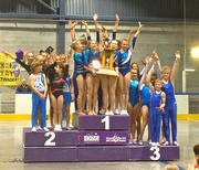 Team Alberta wins All around Team Gold at the Western Canada Cup